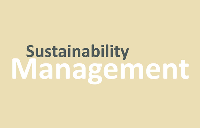 Our sustainability management